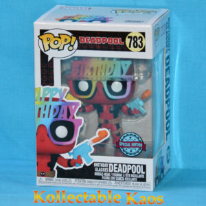 Deadpool - Birthday Glasses Deadpool 30th Anniversary Pop! Vinyl Figure