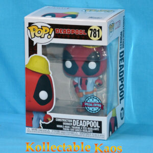 Deadpool - Construction Worker Deadpool 30th Anniversary Pop! Vinyl Figure