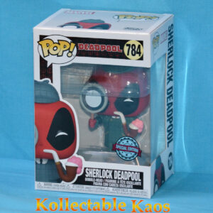 Deadpool - Sherlock Deadpool 30th Anniversary Pop! Vinyl Figure