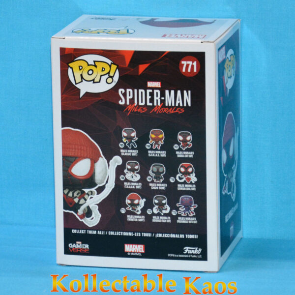 Spider-Man: Miles Morales - Miles Morales in Winter Suit Pop! Vinyl Figure