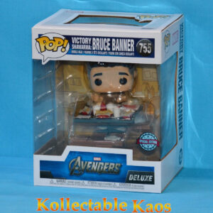 The Avengers - Bruce Banner Victory Shawarma Diorama Deluxe Pop! Vinyl Figure
