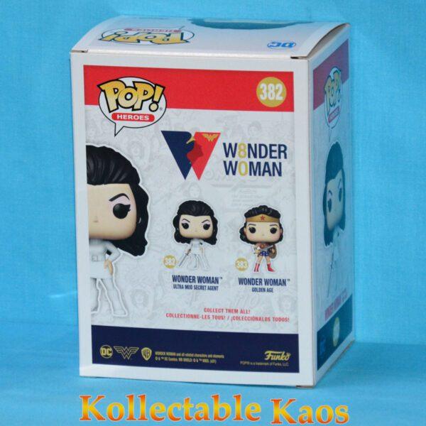 Wonder Woman - Ultra Mod Secret Agent Wonder Woman 80th Anniversary Pop! Vinyl Figure