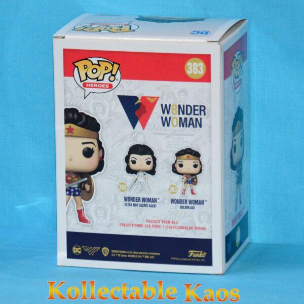 Wonder Woman - Classic 1950s Wonder Woman 80th Anniversary Pop! Vinyl Figure