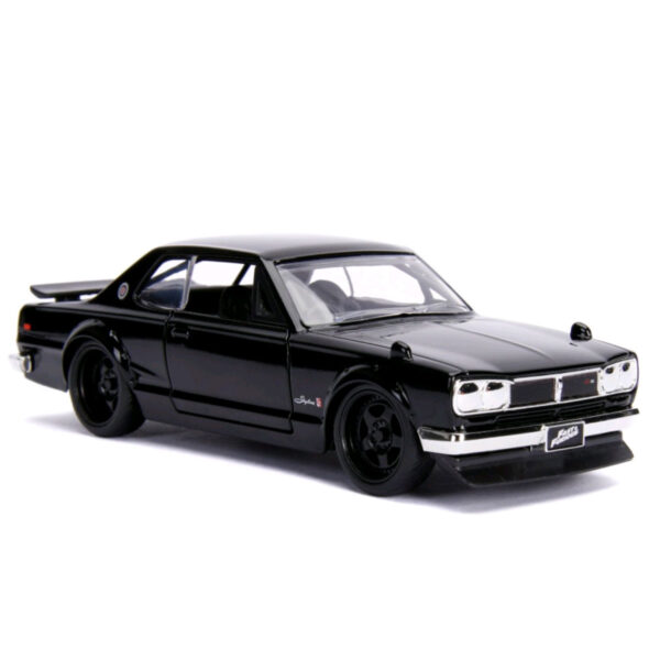 1:32 Jada Hollywood Rides - Fast & Furious - Brian's 1971 Nissan Skyline 2000 GT-R