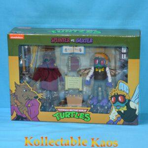 """Teenage Mutant Ninja Turtles - Splinter & Baxter Stockman 17cm(7"""") Action Figure Pack"""