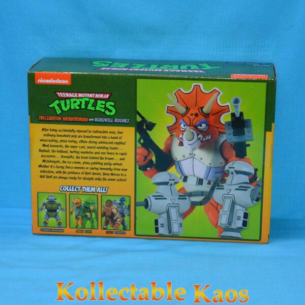 """Teenage Mutant Ninja Turtles - Triceraton & Rodney 17cm(7"""") Action Figure Pack"""