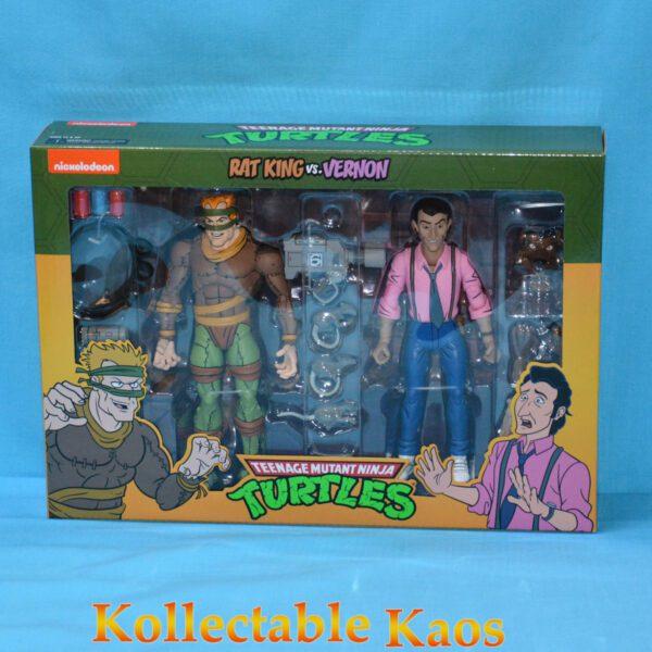 """Teenage Mutant Ninja Turtles - Rat King & Vernon 17cm(7"""") Action Figure Pack"""