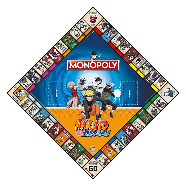 Monopoly - Naruto Edition