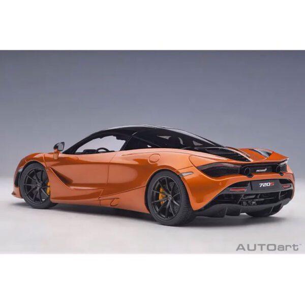 1:18 AutoArt - McLaren 720S - Azores Orange
