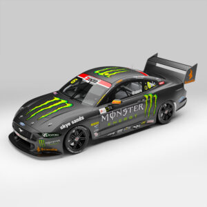 1:18 2020 Championship Season - Monster Energy Racing #6 - Ford Mustang GT Supercar - Waters