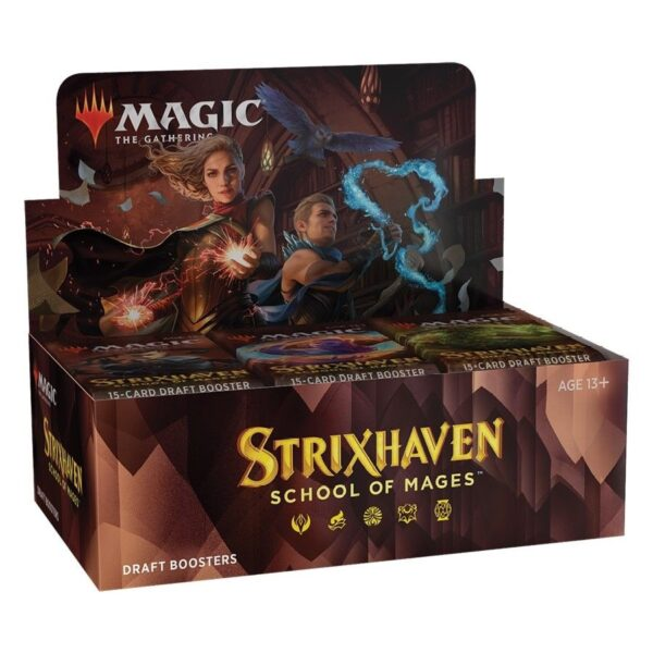 Magic the Gathering - Strixhaven: School of Mages Draft Booster Display