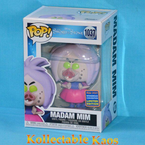 Wonder Con 21 - The Sword in the Stone - Madam Mim with Pig Face Pop! Vinyl Figure
