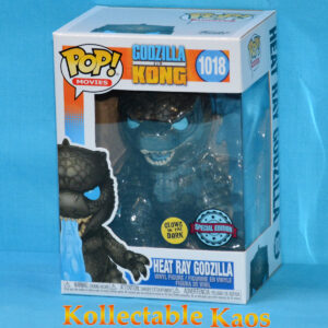 Godzilla vs Kong - Godzilla with Heat Ray Glow in the Dark Pop! Vinyl Figure