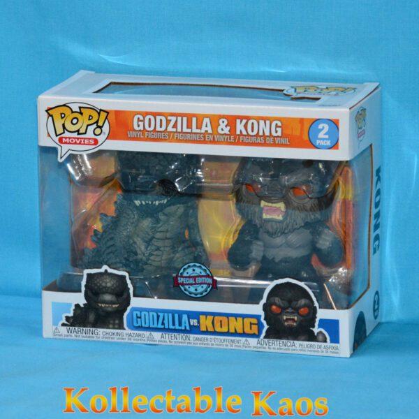 Godzilla vs Kong - Godzilla & Kong Pop! Vinyl Figure 2-Pack
