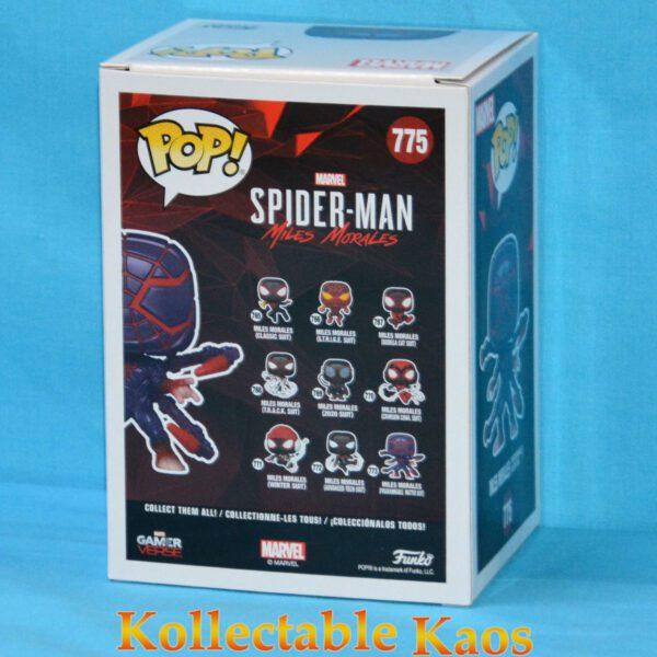 Spider-Man: Miles Morales – Miles Morales Programmable Matter Suit Glow Pop! Vinyl Figure