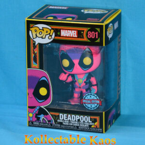 Deadpool - Deadpool Blacklight Pop! Vinyl Figure