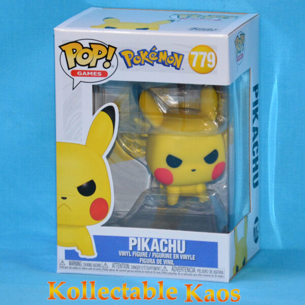 Pokemon - Pikachu Angry Crouching Pop! Vinyl Figure