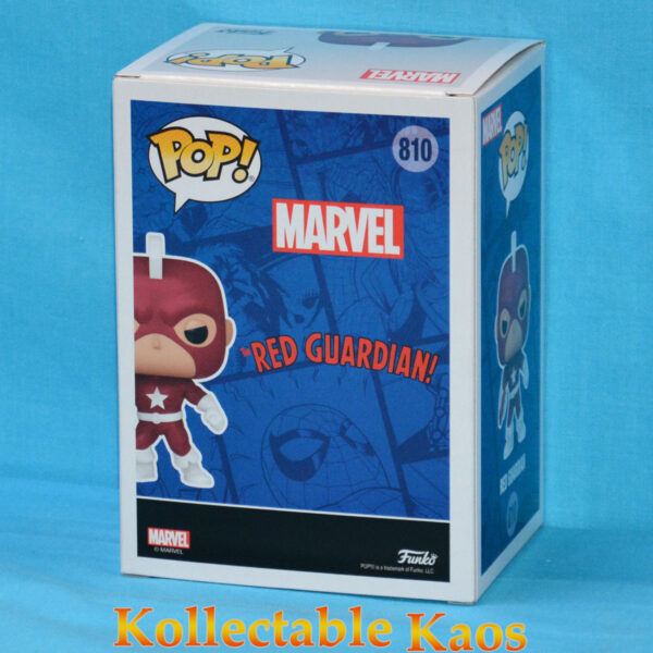 Captain America - Red Guardian Year of the Shield Pop! Vinyl Figure