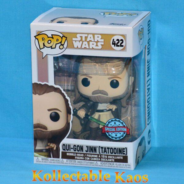 Star Wars: Across The Galaxy - Qui-Gon Jinn Tatooine Pop! Vinyl Figure