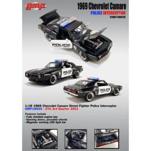 1:18 GMP - 1969 Chevrolet Camaro Street Fighter Police Interceptor