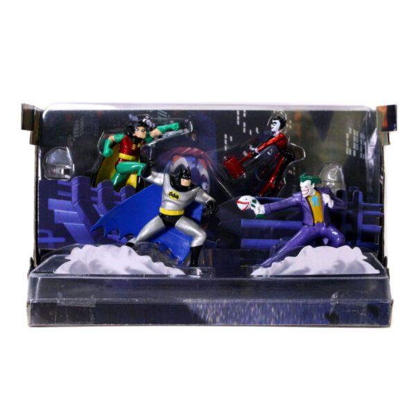 Batman The Animated Series - Nano Metalfigs Diorama Scene