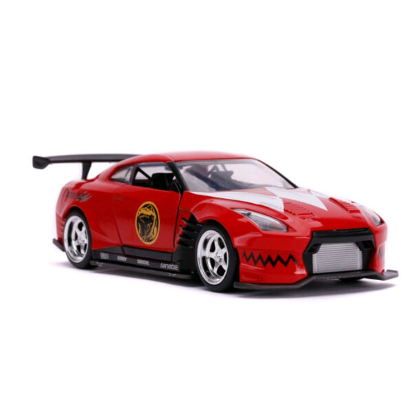 1:32 Jada Hollywood Rides - Power Rangers - 2009 Nissan GT-R Red