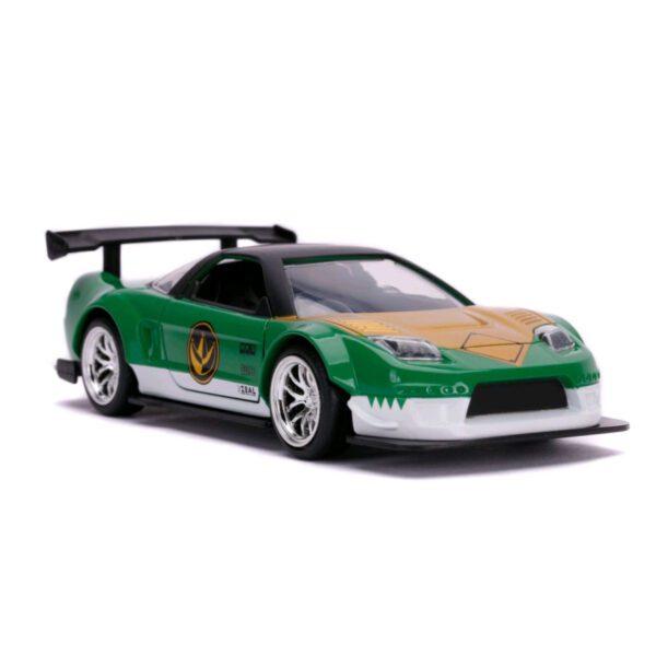 1:32 Jada Hollywood Rides - Power Rangers - 2002 Honda NSX Type R Green