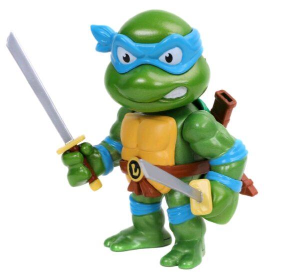 """Teenage Mutant Ninja Turtles - Leonardo 10cm(4"""") Metals Die-Cast Figure"""