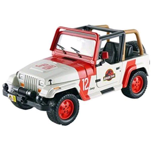 1:24 Jada Hollywood Rides - Jurassic World - 1992 Jeep Wrangler