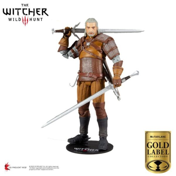 """The Witcher 3: Wild Hunt - Geralt of Rivia Collector Series 7"""" Action Figure"""