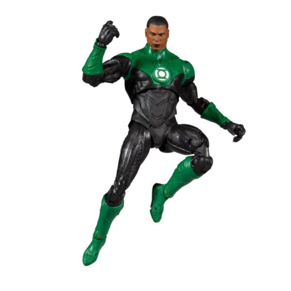 "Green Lantern - John Stewart DC Rebirth DC Multiverse 17cm(7"") Scale Action Figure"