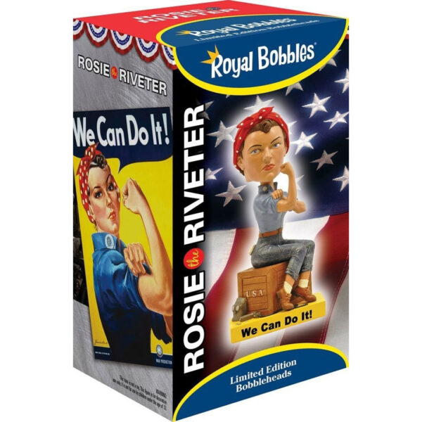 Bobblehead - Rosie the Riveter