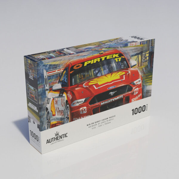 Win On Debut 1000 Piece Jigsaw Puzzle