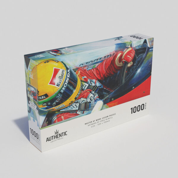 Master At Work 1000 Piece Jigsaw Puzzle