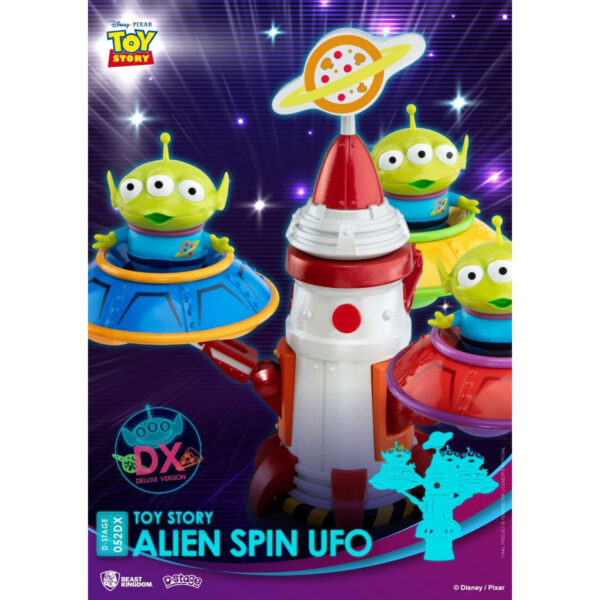 Diorama Stage - Toy Story Alien Spin UFO