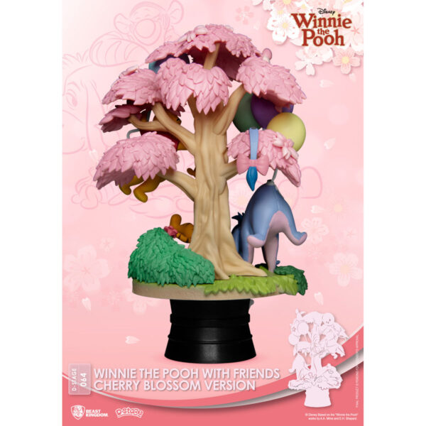 Diorama Stage - Winnie the Pooh with Friends Cherry Blossom