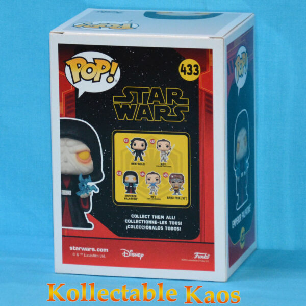 Star Wars Episode IX - Emperor Palpatine Revitalized Pop! Vinyl Figure