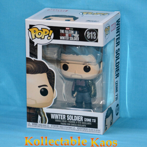 The Falcon and the Winter Soldier - Winter Soldier Zone 73 Pop! Vinyl Figure