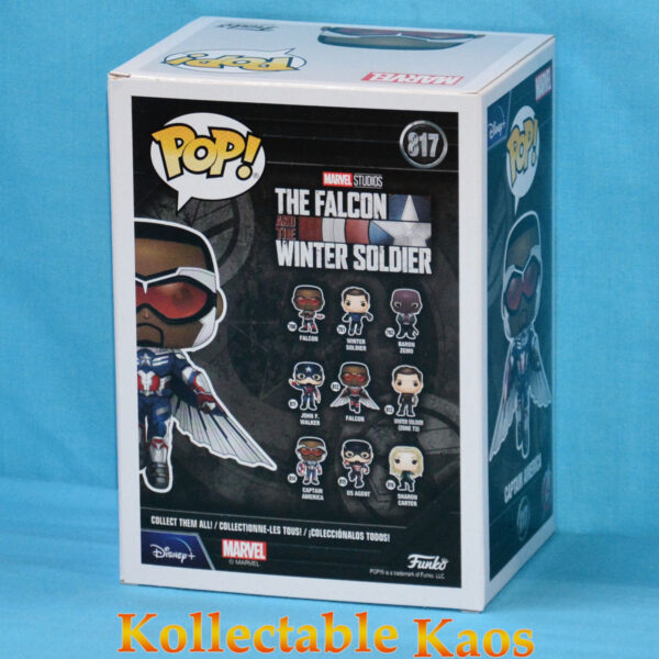 The Falcon and the Winter Soldier - Sam Wilson Captain America Flying Pop! Vinyl Figure