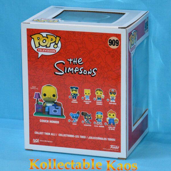 The Simpsons - Homer Simpson on Couch Deluxe Pop! Vinyl Figure