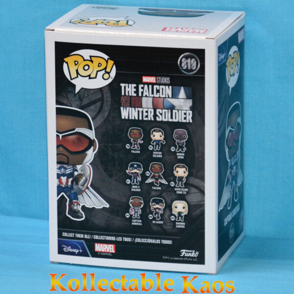 The Falcon and the Winter Soldier - Captain America with Wings Pop! Vinyl Figure