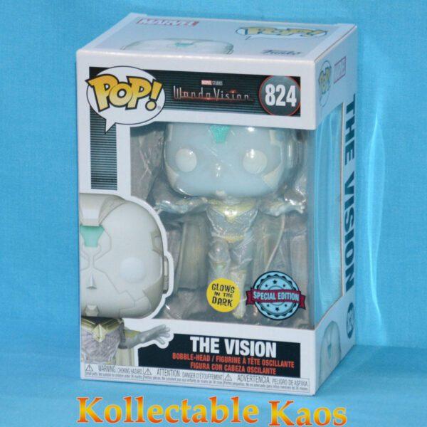 WandaVision - The Vision Glow in the Dark Pop! Vinyl Figure
