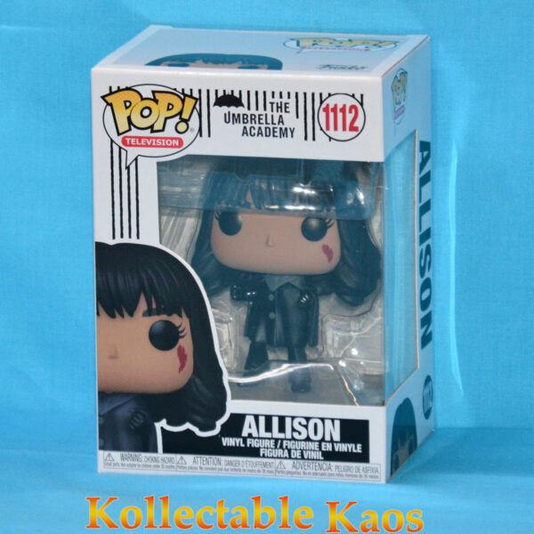 The Umbrella Academy - Allison Hargreeves with Black Hair Pop! Vinyl Figure