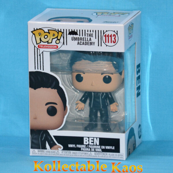 The Umbrella Academy - Ben Hargreeves with Black Outfit Pop! Vinyl Figure