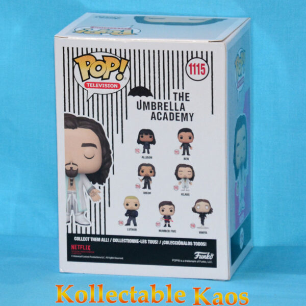 The Umbrella Academy - Klaus Hargreeves with White Outfit Pop! Vinyl Figure