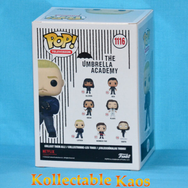 The Umbrella Academy - Luther Hargreeves with Blue Jacket Pop! Vinyl Figure