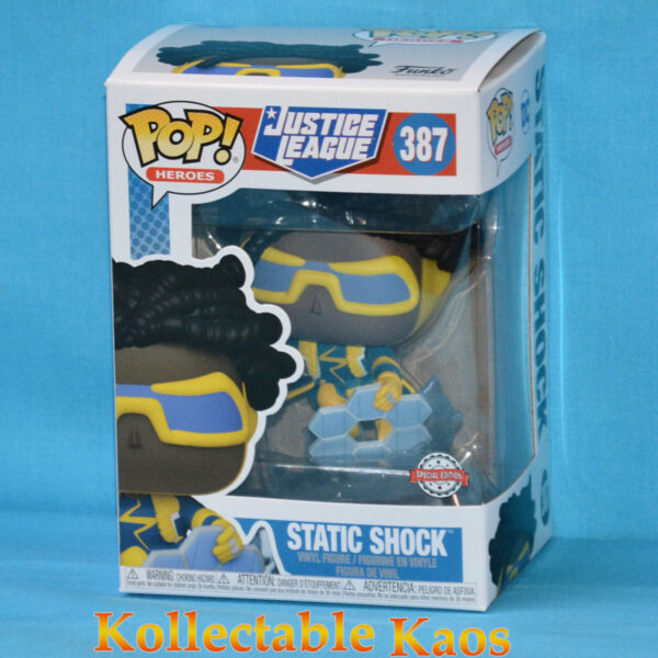 Justice League - Static Shock Pop! Vinyl Figure