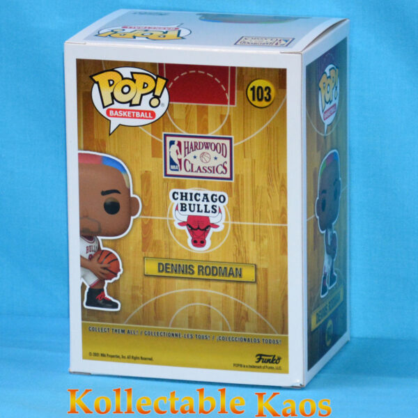 NBA Basketball - Dennis Rodman Chicago Bulls Pop! Vinyl Figure