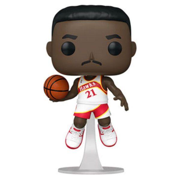 NBA Basketball - Dominique Wilkins Atlanta Hawks Pop! Vinyl Figure