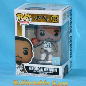 NBA Basketball - George Gervin San Antonio Spurs Pop! Vinyl Figure